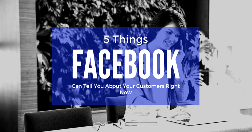 5 Things Facebook Can Tell You About Your Customers Right Now